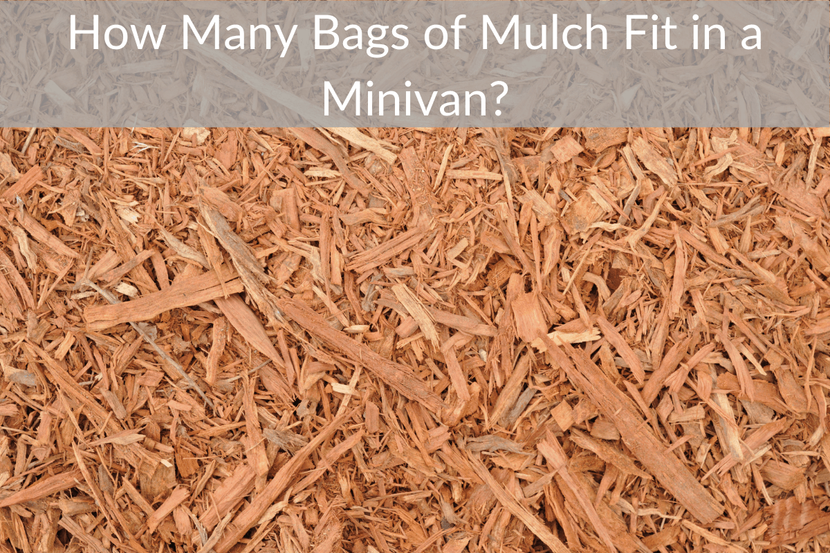 How Many Bags of Mulch Fit in a Minivan?