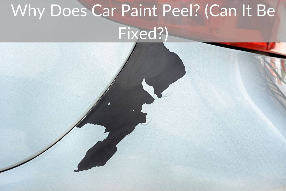 Why Does Car Paint Peel? (Can It Be Fixed?)
